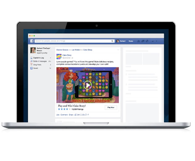 Facebook Introduces New Desktop Video App Ads and Mobile App Ads