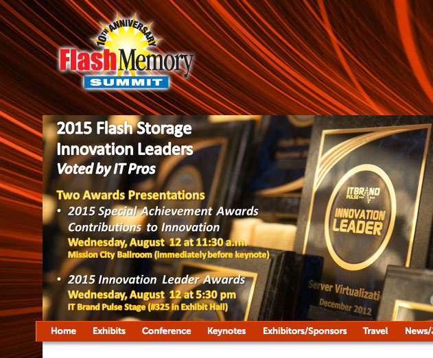 Flash Memory Summit 2015 to Focus on Wearable Development