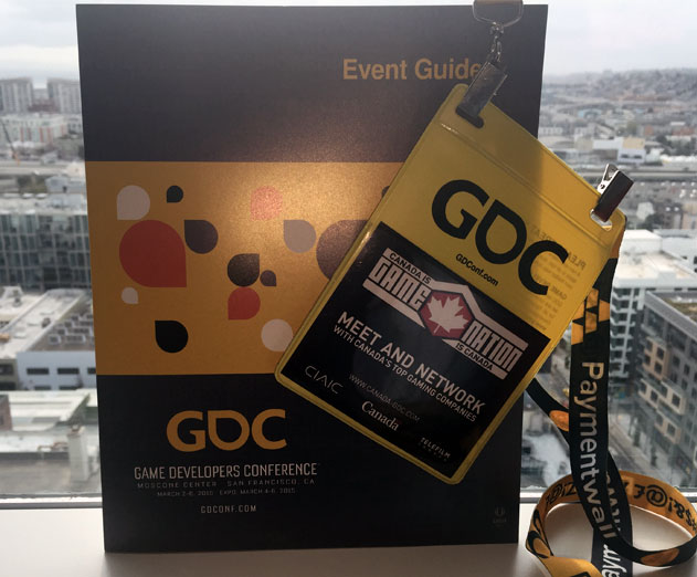 Day One at GDC, Sleep Late and Prosper