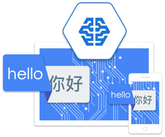 Google Machine Learning auto-translation included in Collavate 3.9.1