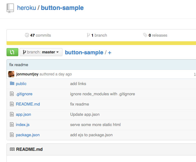 Heroku Release Heroku Button: A Simple HTML or Markdown Snippet
