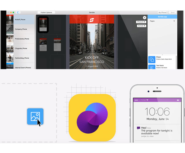 Mag + Releases New App Drag and Drop iOS and Android App Creator