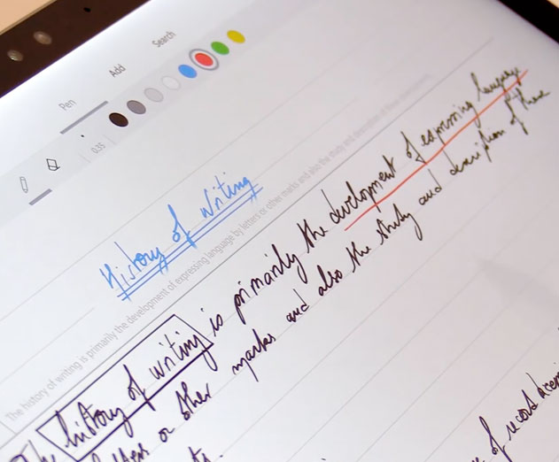 New Interactive Ink From MyScript Lets You Enable Your Users to Write and Draw