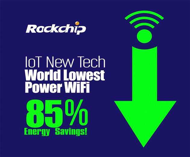 Rockchip Debuts SoC Processor Technology for Low Power Wi Fi Connected IoT Smart Devices