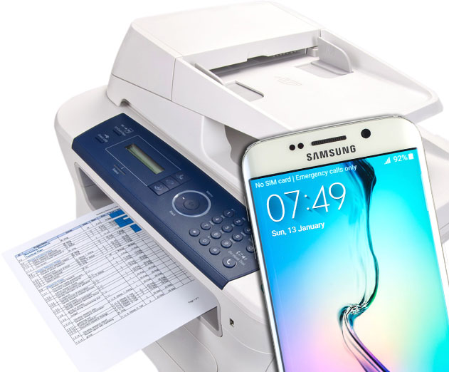Mopria provides Samsung Galaxy phone users the ability to easily print