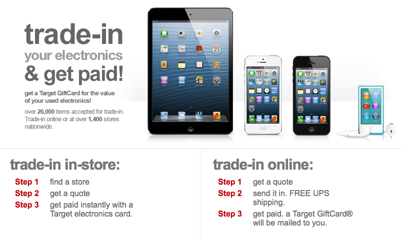 Target Stores Offer Special Trade in Deal For a New iPad Air