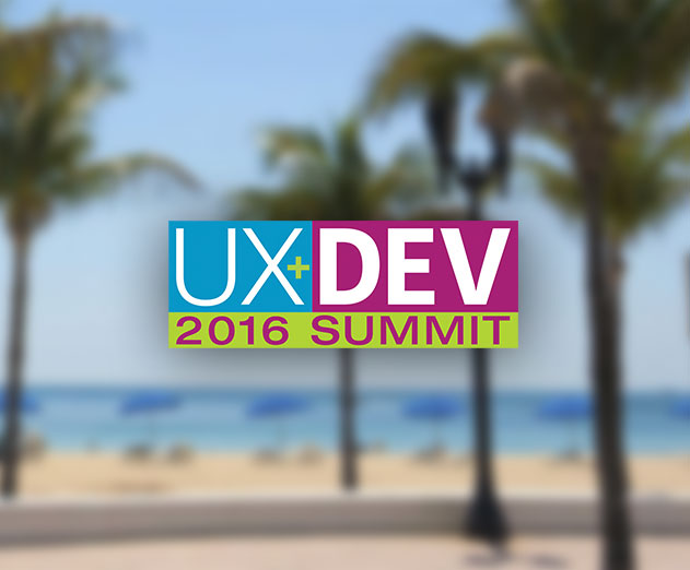 Get Out of the Cold Weather with Ft. Lauderdale UX and Front-End Conference