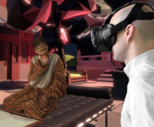VR human body reconstruction developed by Fraunhofer HHI