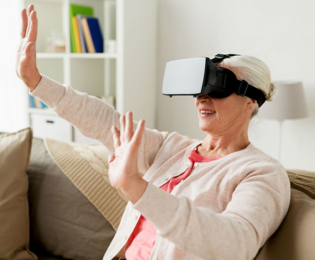 How Virtual Reality is helping seniors improve their quality of life