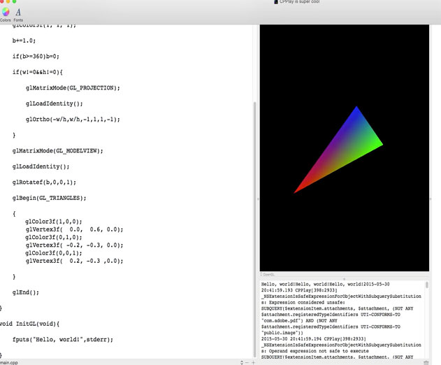YAWMOO Offers C and C++ Interpreted Developer Environment for OS X