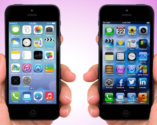 iOS7 VS. iOS6 The Developer&#039s User Experience Problem
