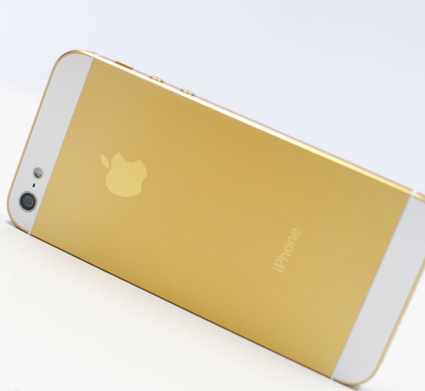 No Gold iPhone 5S For You Until October!