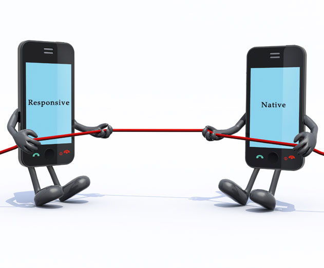 The Tug of War Between Responsive and Native Design