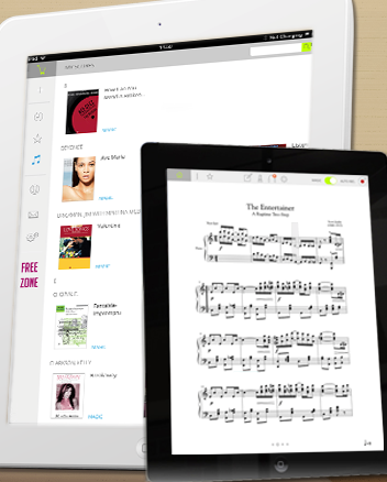 New Release: Tonara, The iPad App that Listens to Musicians and Automatically Flips Pages