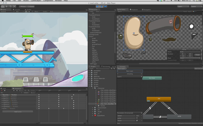 Unity Technologies Unveils 2D Gaming Tools