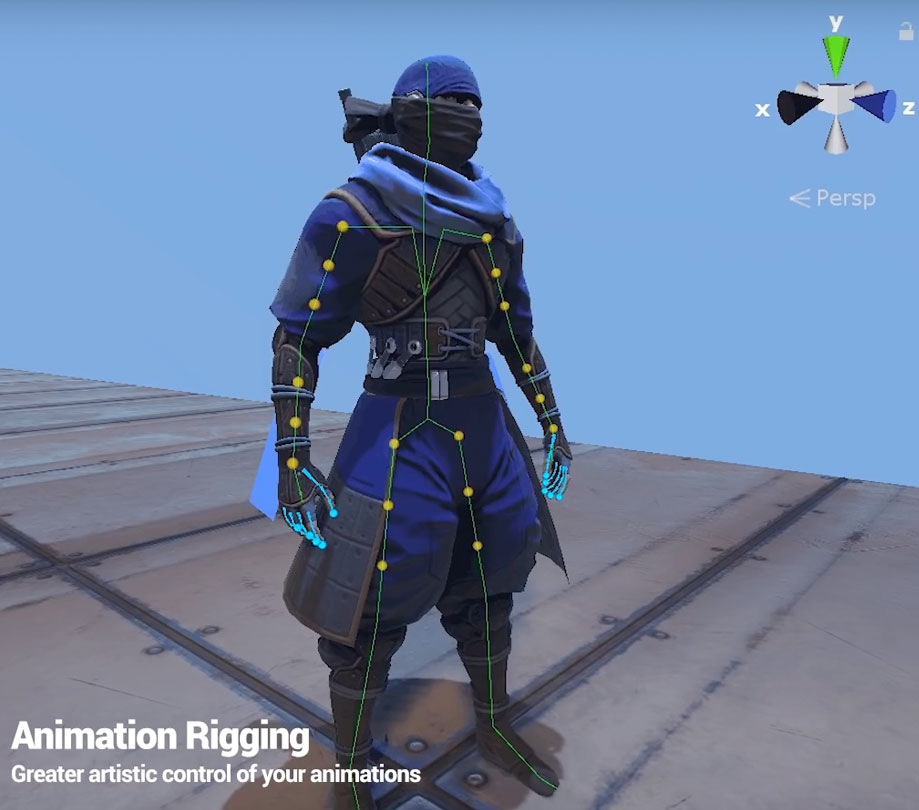 Animation rigging in Unity 19 1