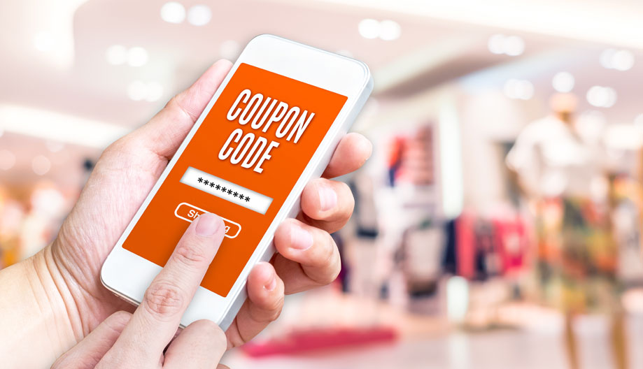Using geo based coupon on mobile phone from location ad targeting