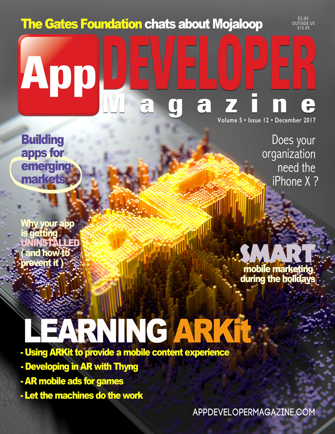 App Developer Magazine December-2017 for Apple and Android mobile app developers