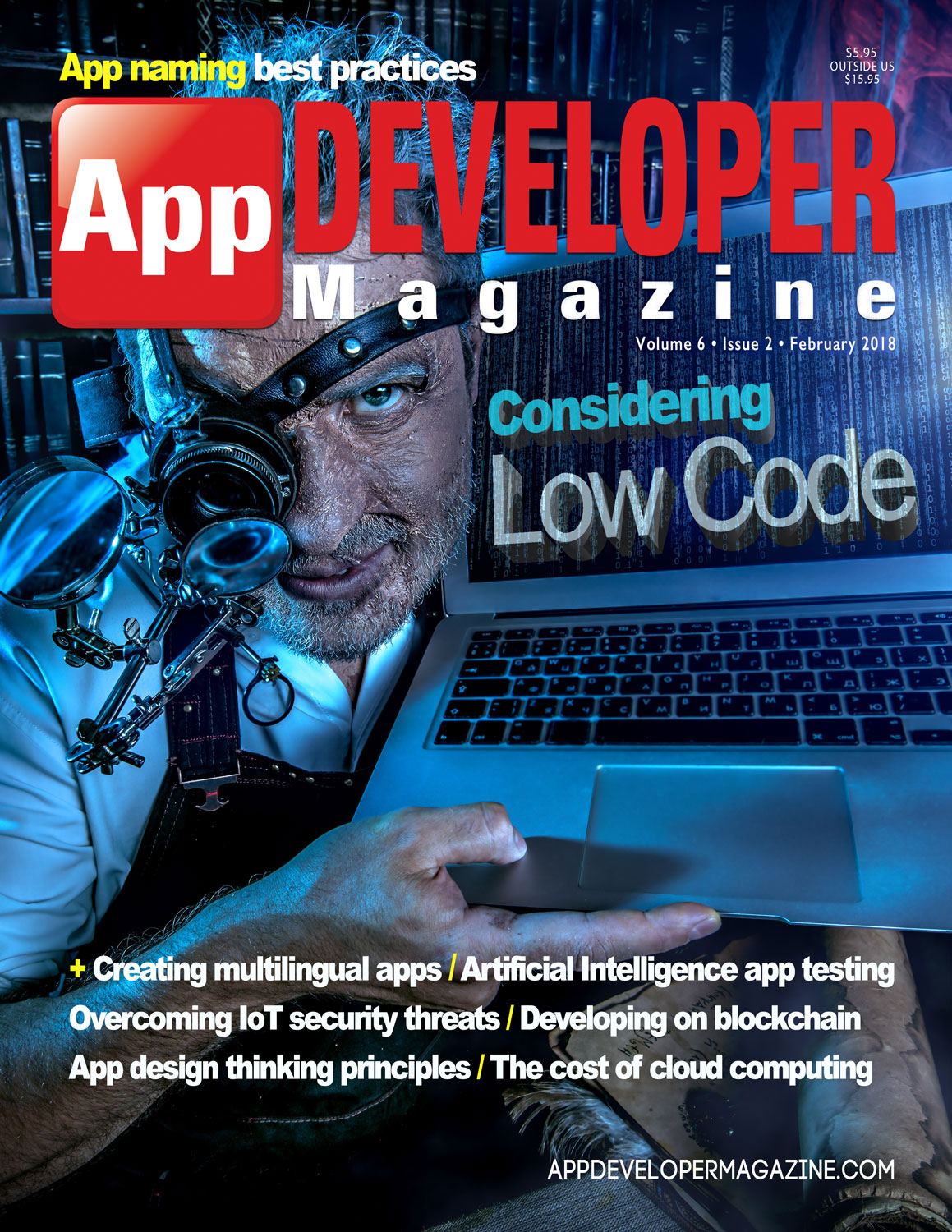 App Developer Magazine February-2018 for Apple and Android mobile app developers