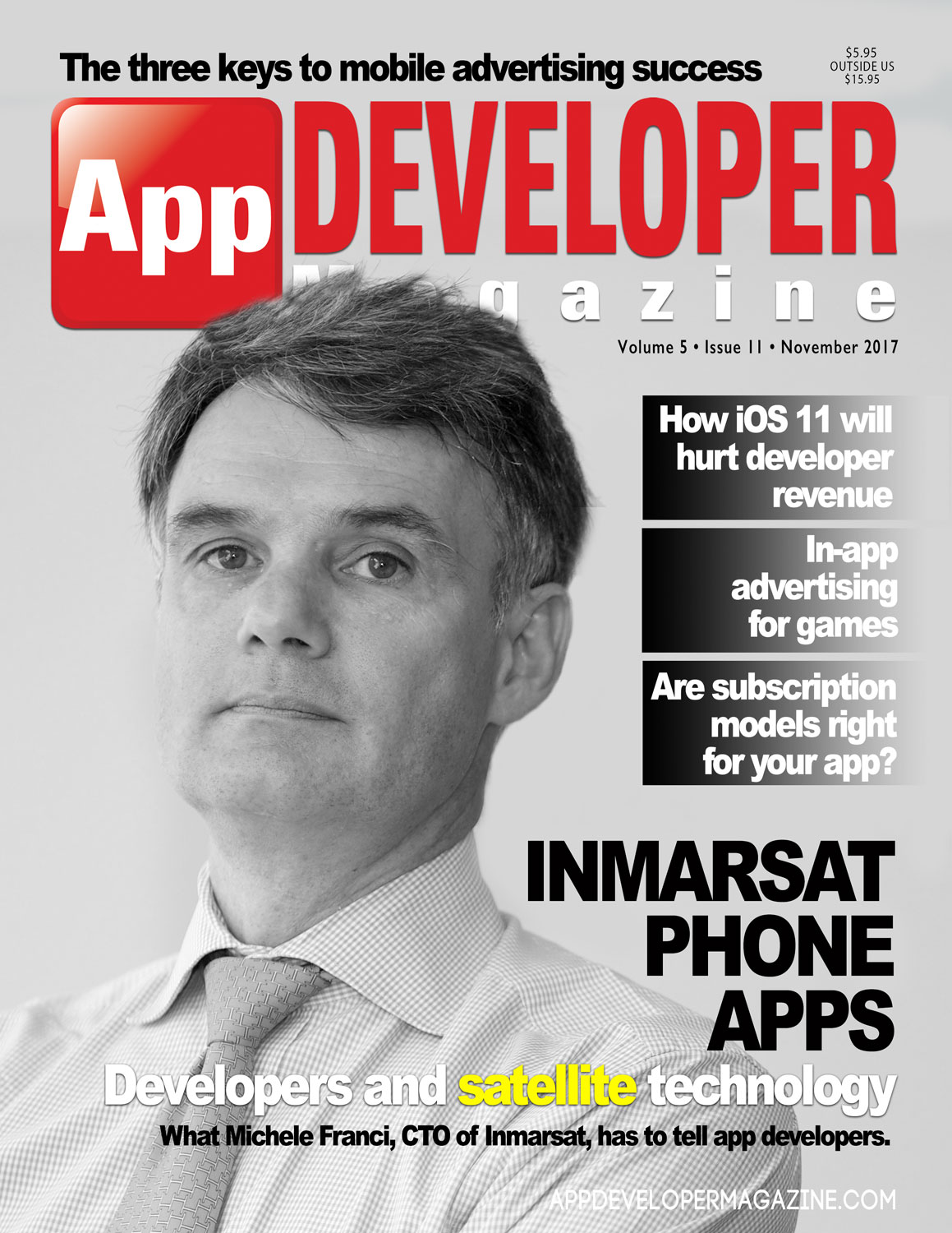 App Developer Magazine November-2017 for Apple and Android mobile app developers