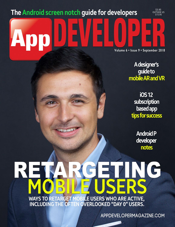 App Developer Magazine September-2018 for Apple and Android mobile app developers