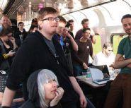 GDC Game Developers Join Train Jam for 52 Hour Coding Journey from Chicago to San Francisco
