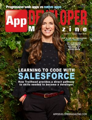 App Developer Magazine April-2018 for Apple and Android mobile app developers