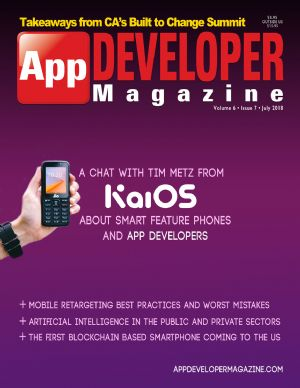 App Developer Magazine July-2018 for Apple and Android mobile app developers