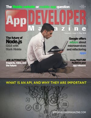 App Developer Magazine May-2018 for Apple and Android mobile app developers