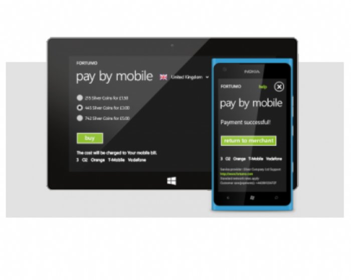 Fortumo Launches Payments on Windows Phone