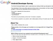 Android-Developer-Survey