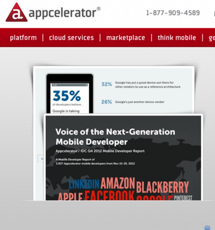 Appcelerator developer survey results