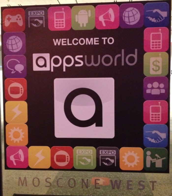 Day one at AppsWorld North America 2013