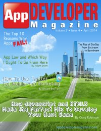 App Developer Magazine April 2014 issue