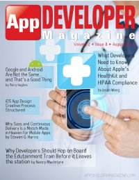 App Developer Magazine August 2014 issue