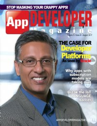 App Developer Magazine August 2017 issue
