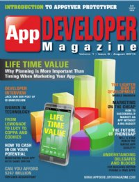 App Developer Magazine Aug13 issue