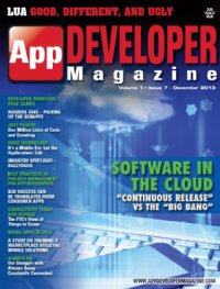 App Developer Magazine Dec13 issue