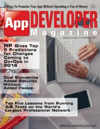 App Developer Magazine December 2015 issue