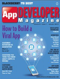 App Developer Magazine Jan14 issue