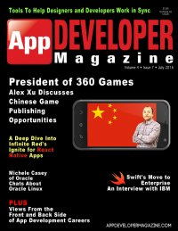 App Developer Magazine July 2016 issue