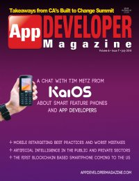 App Developer Magazine July 2018 issue
