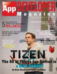 App Developer Magazine June 2014 issue