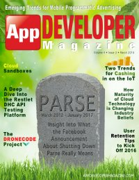 App Developer Magazine March 2016 issue