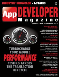 App Developer Magazine Nov13 issue