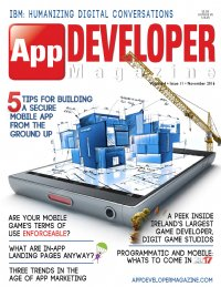 App Developer Magazine November 2016 issue