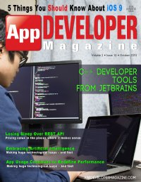 App Developer Magazine October 2015 issue
