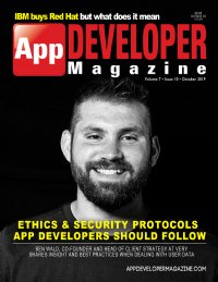 App Developer Magazine October 2019 issue