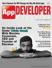App Developer Magazine September 2016 issue