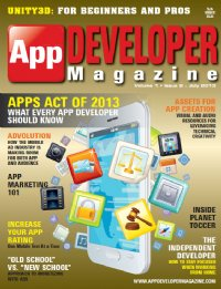 App Developer Magazine July13 issue